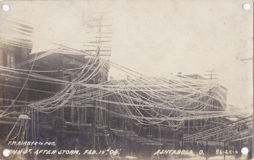 Ashtabula Ohio Ice Storm Feb 5th 1909