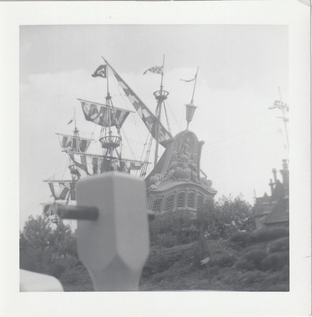 Chicken of the Sea Pirate Ship Restaurant Disneryland California Photo