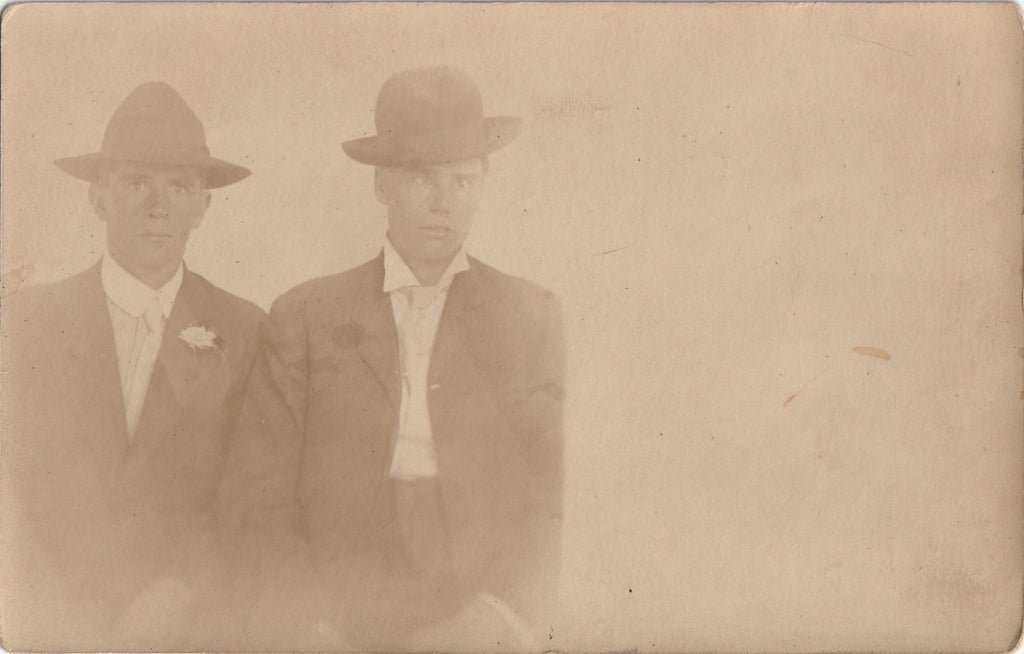 Cross Eyed Dandy RPPC