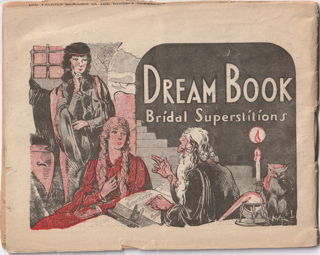 Dream Book Bridal Superstitions Booklet Back Cover