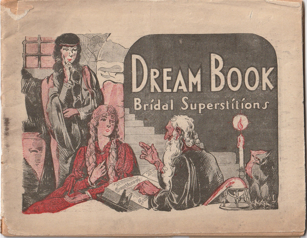 Dream Book Bridal Superstitions Booklet