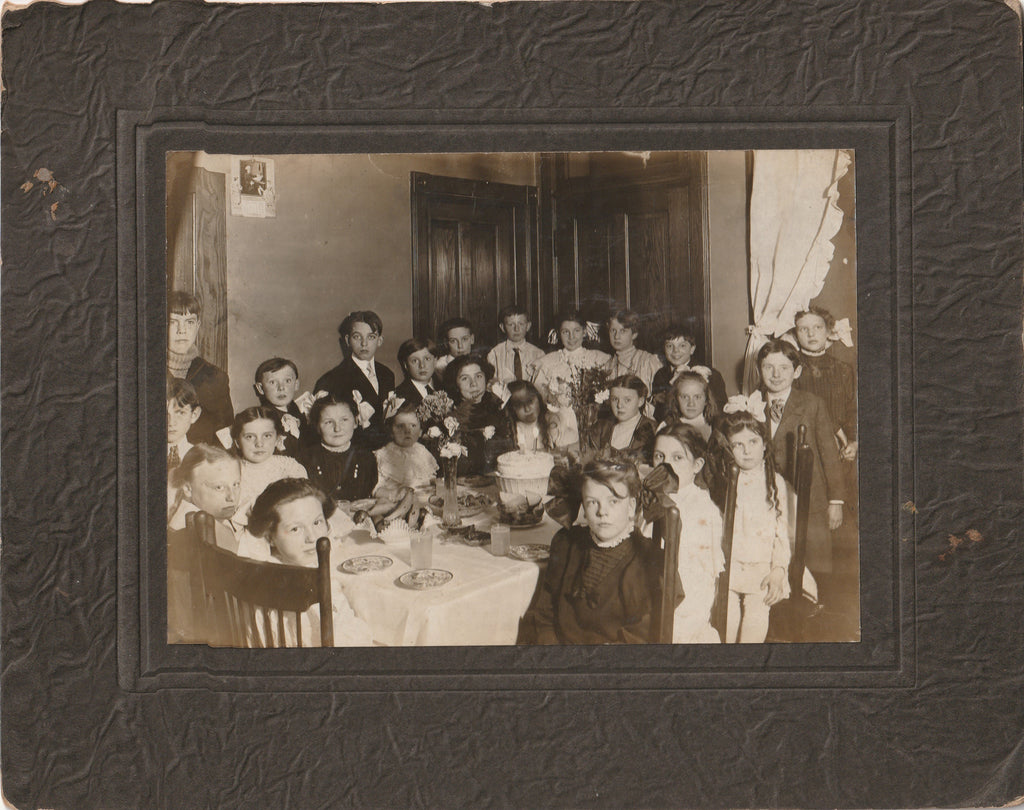Edwardian Birthday Party Cabinet Photo