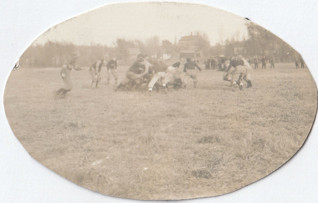 Edwardian Football Game RPPC 2 of 2