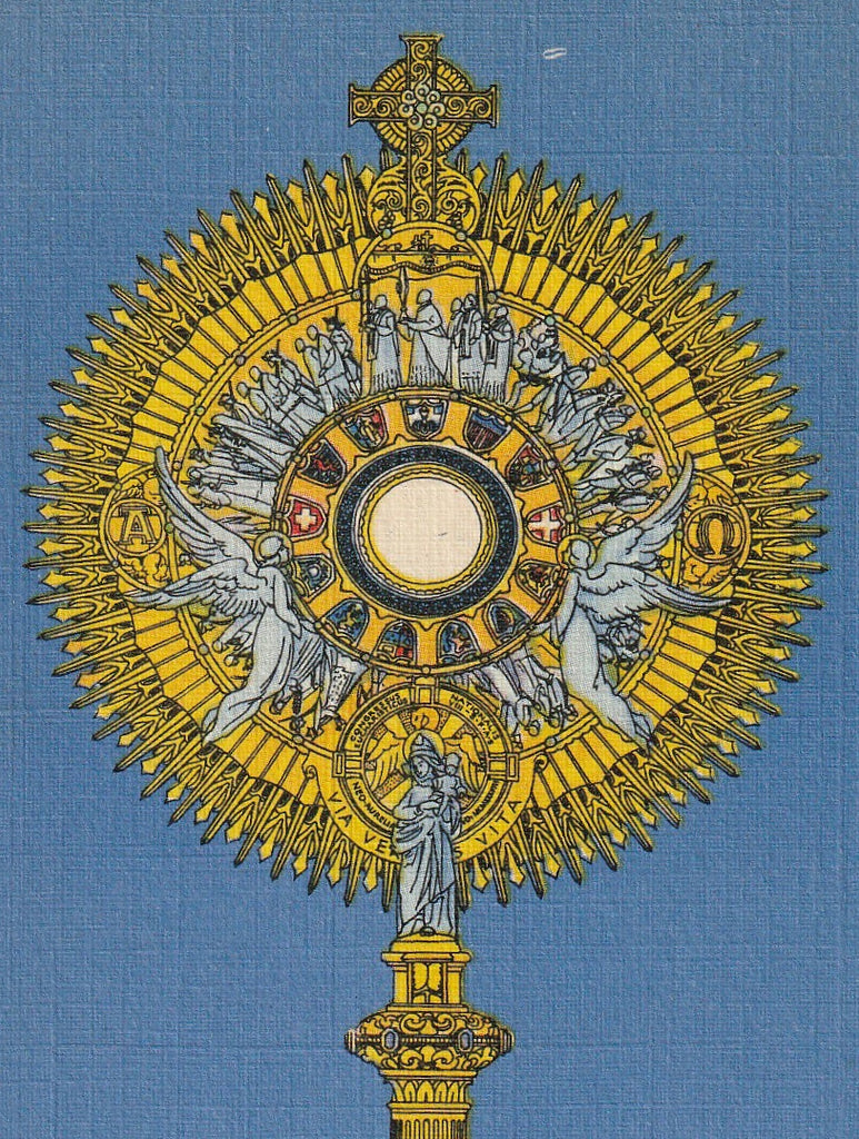 Eighth National Eucharistic Congress New Orleans Postcard Close Up 2