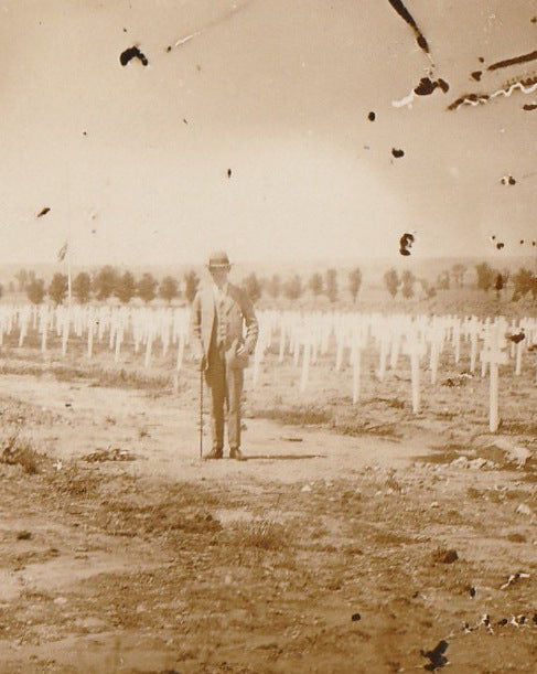 Flanders Field WWI France Photo Close Up 3