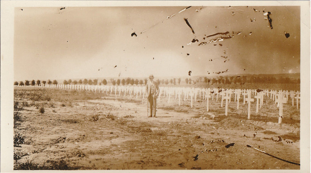 Flanders Field WWI France Photo