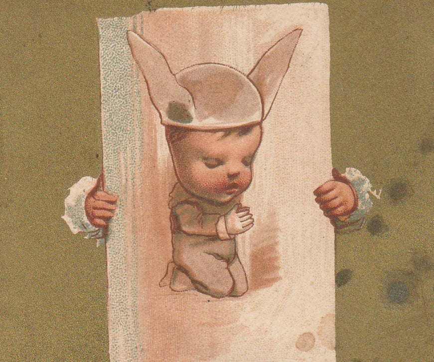 Praying Donkey Fool Trade Card Close Up 2