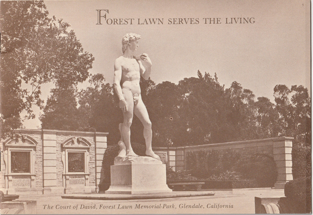 Forest Lawn Serves the Living - Booklet, c. 1961