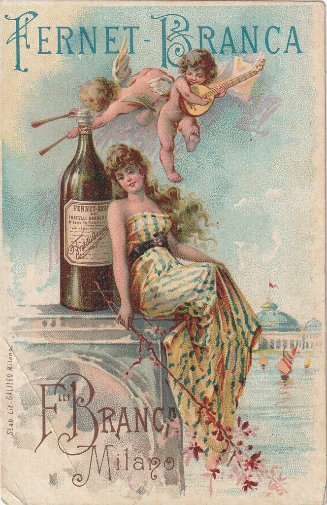 Fernet-Branca 1893 Columbian World's Fair Chicago Trade Card