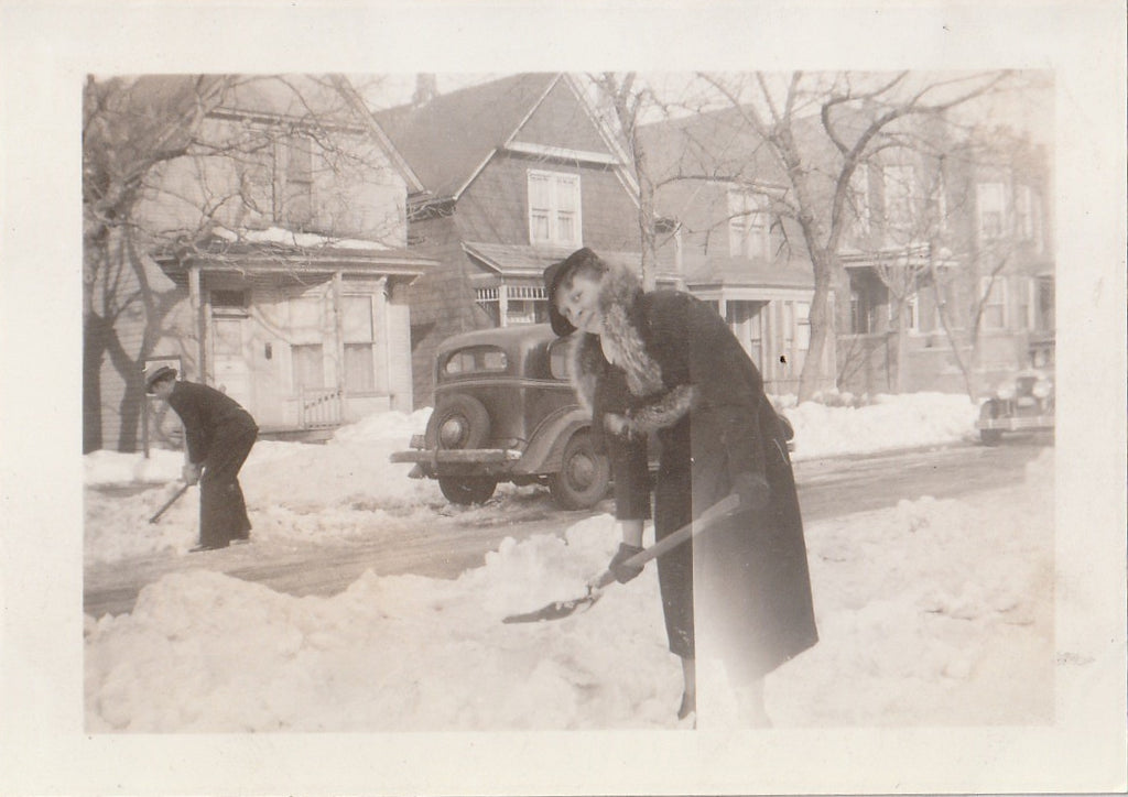 Blizzard Photograph Feb. 5th, 1939