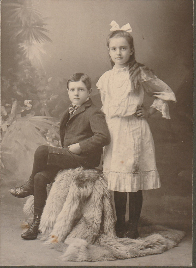 Grace and Oscar Dean Antique Cabinet Photo Close Up