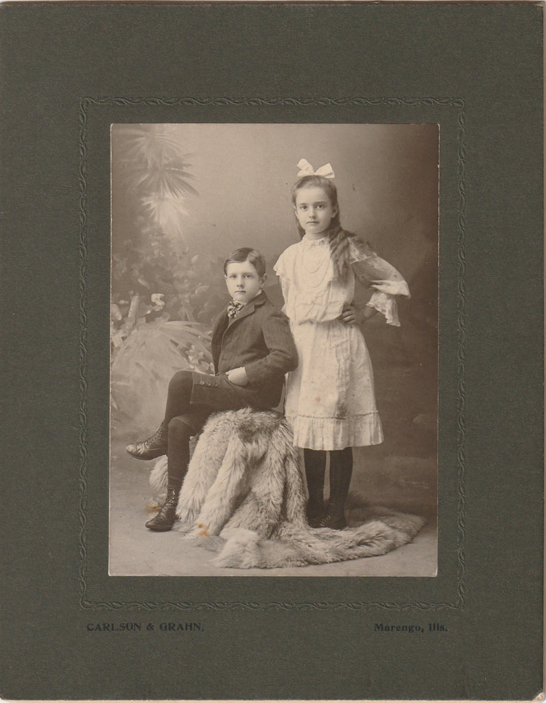 Grace and Oscar Dean Antique Cabinet Photo