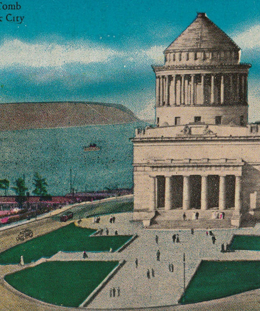 Grant's Tomb New York City Antique Postcard Close Up 2