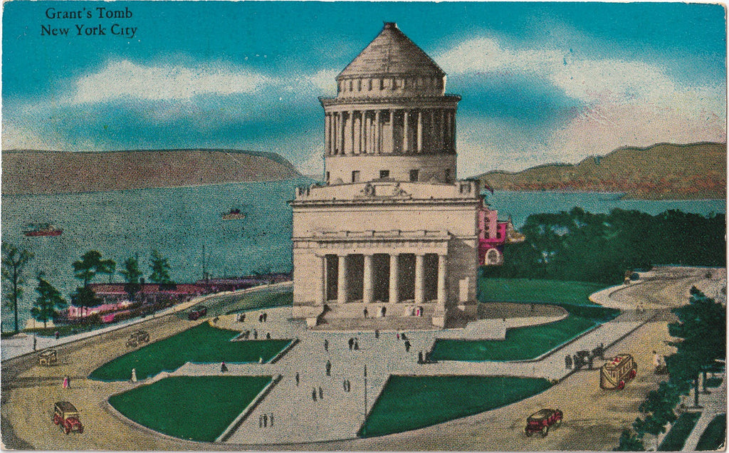 Grant's Tomb New York City Antique Postcard