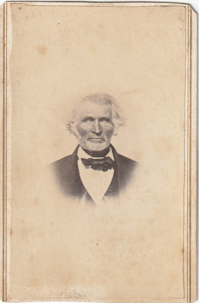 Grizzled Old Victorian Man CDV