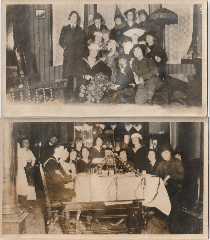 Halloween Costume Party Photo 1920s