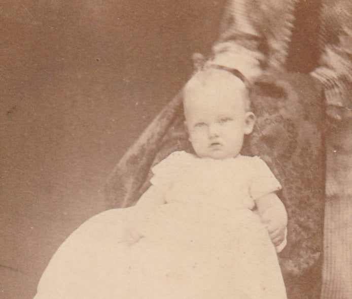 Hidden Mother CDV New Castle PA Close Up 3