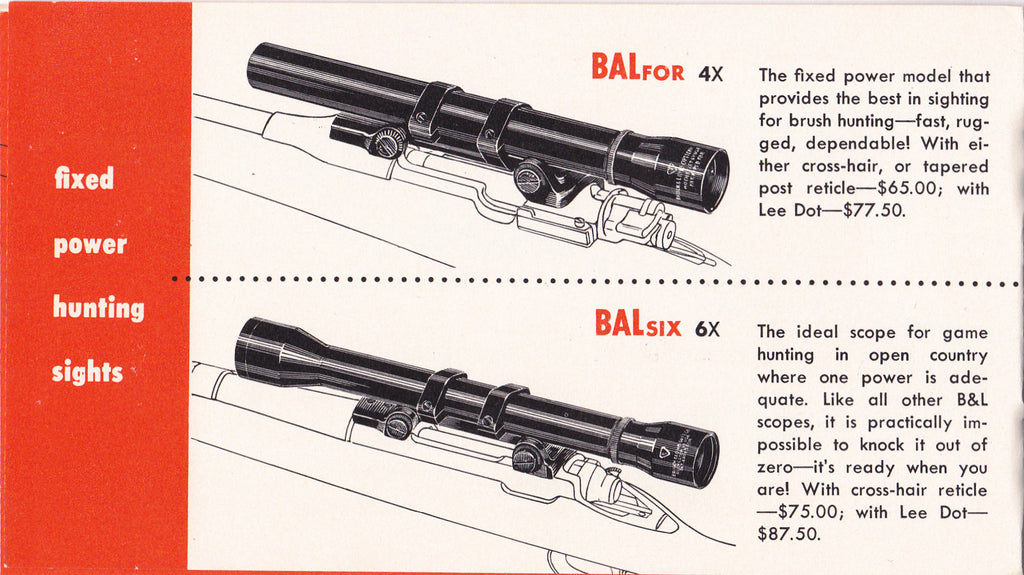 How To Choose A Telescopic Sight- 1960s Vintage Booklet- Bausch & Lomb- Shooting Accuracy- Gun Manual- Hunting Rifle