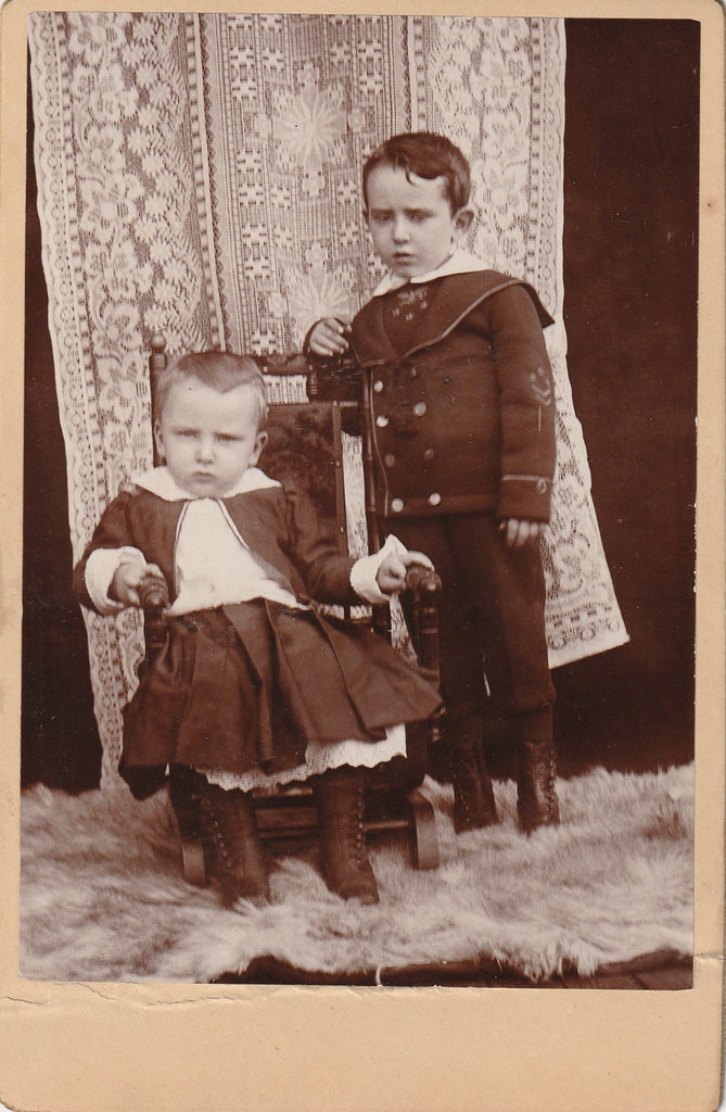 Ill Tempered Victorian Tykes Cabinet Photo