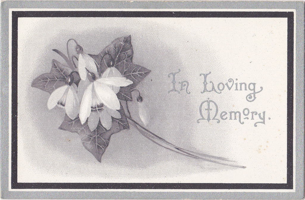 In Loving Memory of John Thomas- 1925 Funeral Card