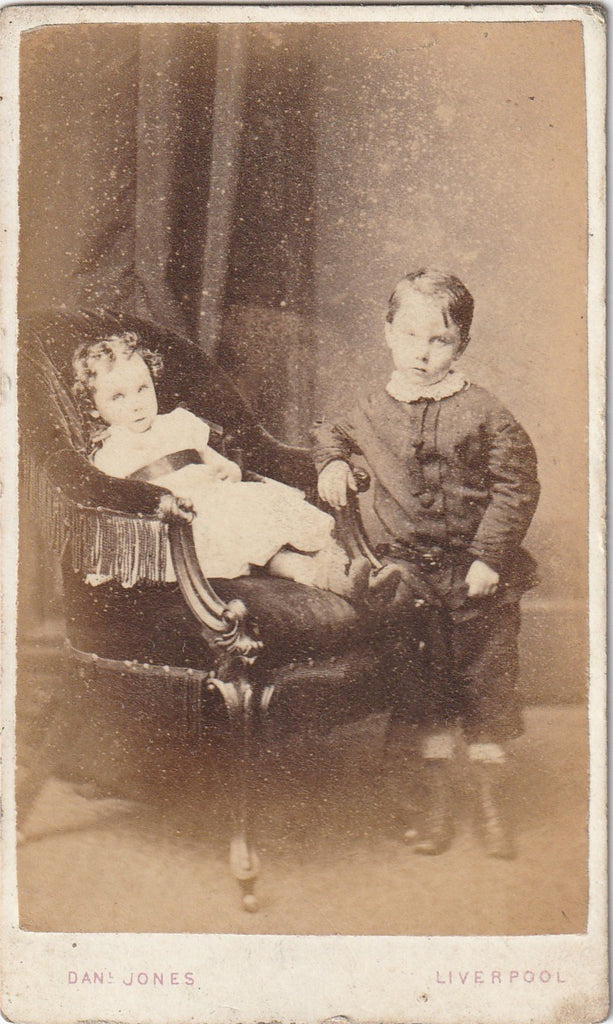 Victorian Post-mortem Photography CDV Photo
