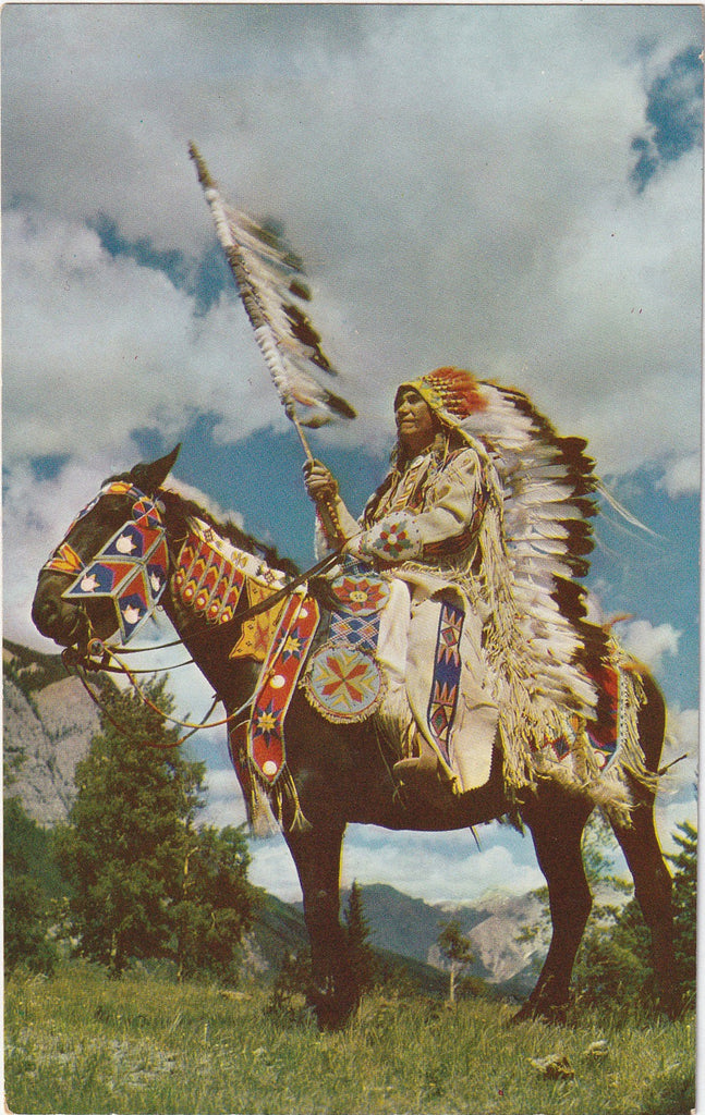 Indian Chief Postcard