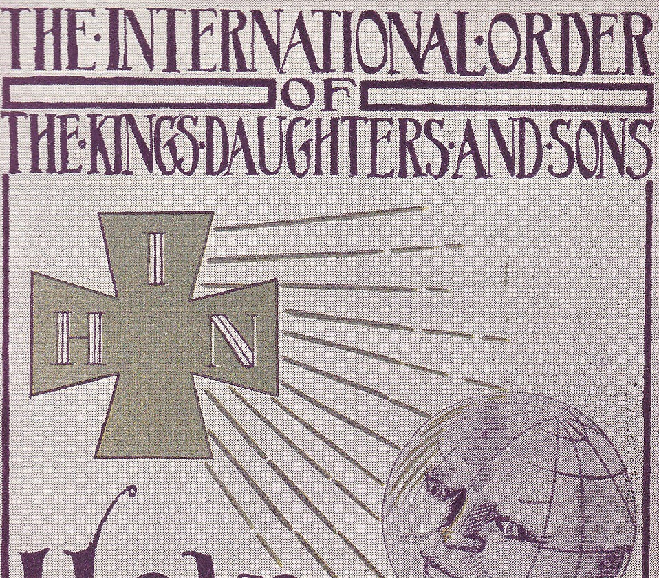 International Order of the Kings Daughters and Sons Vintage Postcard Close Up 2