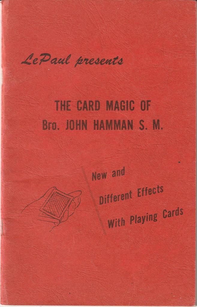 Le Paul Presents the Card Magic of Bro. John Hamman S. M. - Booklet, c. 1976