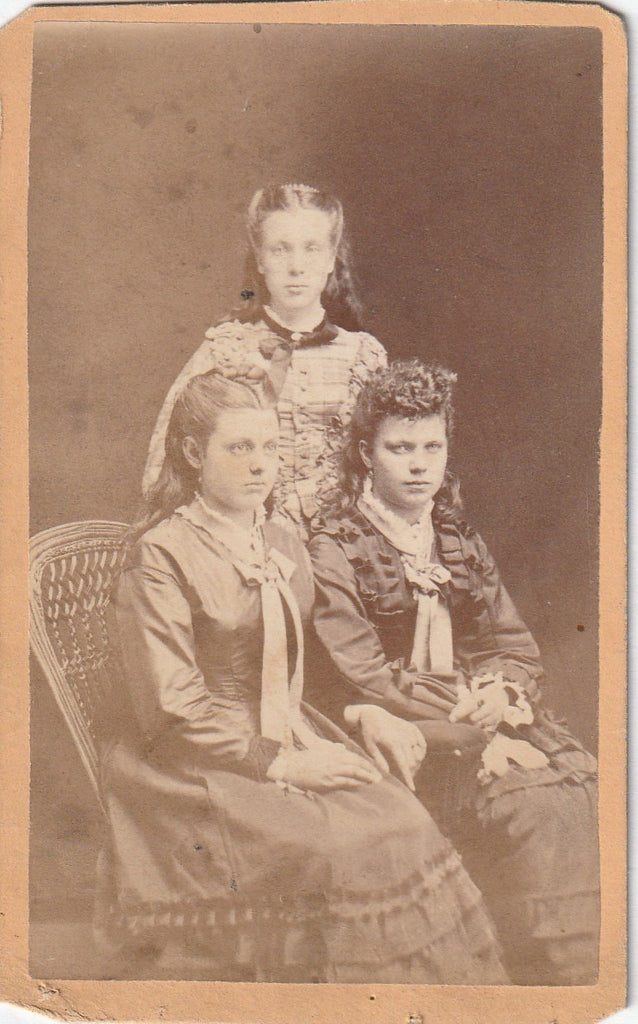 Belvidere IL CDV Photo