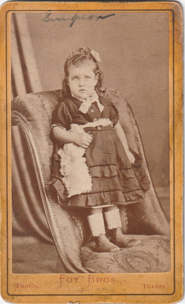 Little Jeanie Simpson CDV
