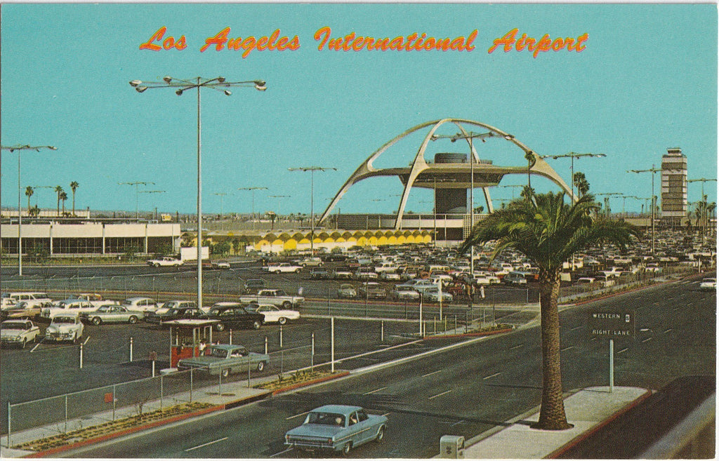 Los Angeles International Airport California Postcard