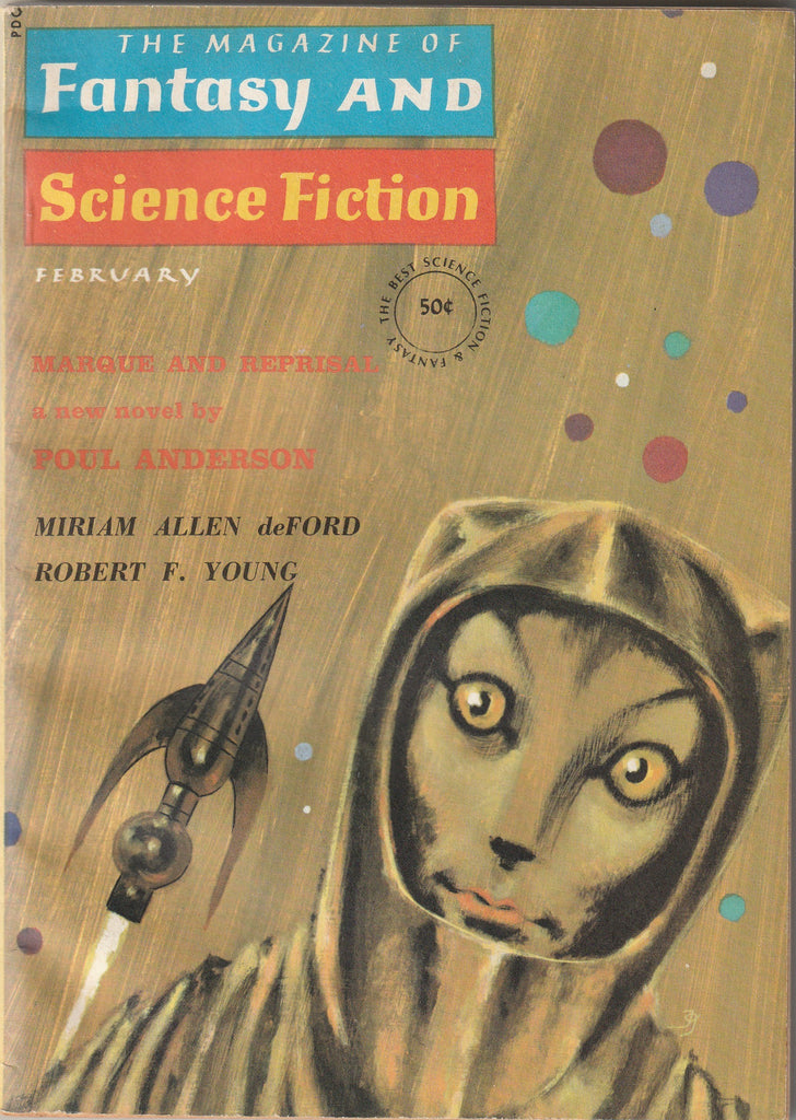 Marque and Reprisal - Poul Anderson - The Magazine of Fantasy and Science Fiction - Feb., 1964 Cover
