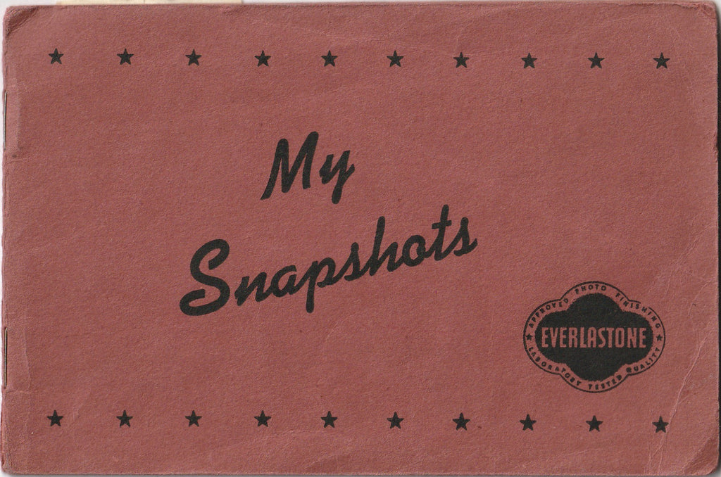 My Snapshots 1939 - 1944 Photo Booth Portraits Album Cover
