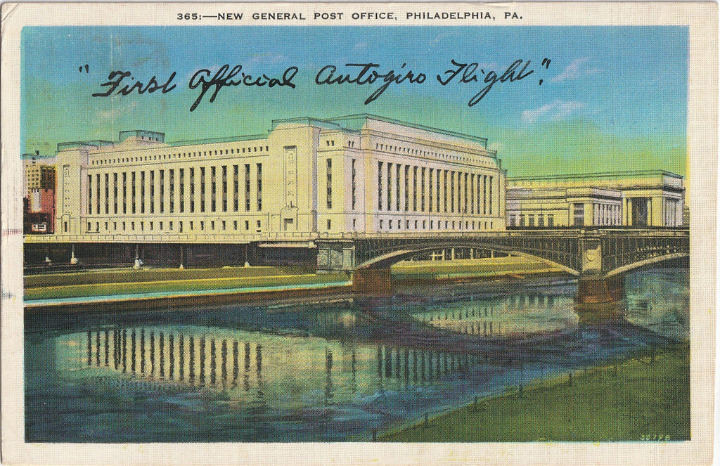 New General Post Office Philadelphia Postcard