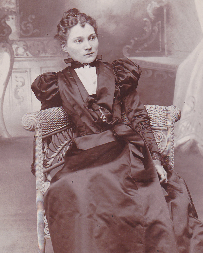 Beautiful Victorian Woman Corning NY Close Up 2