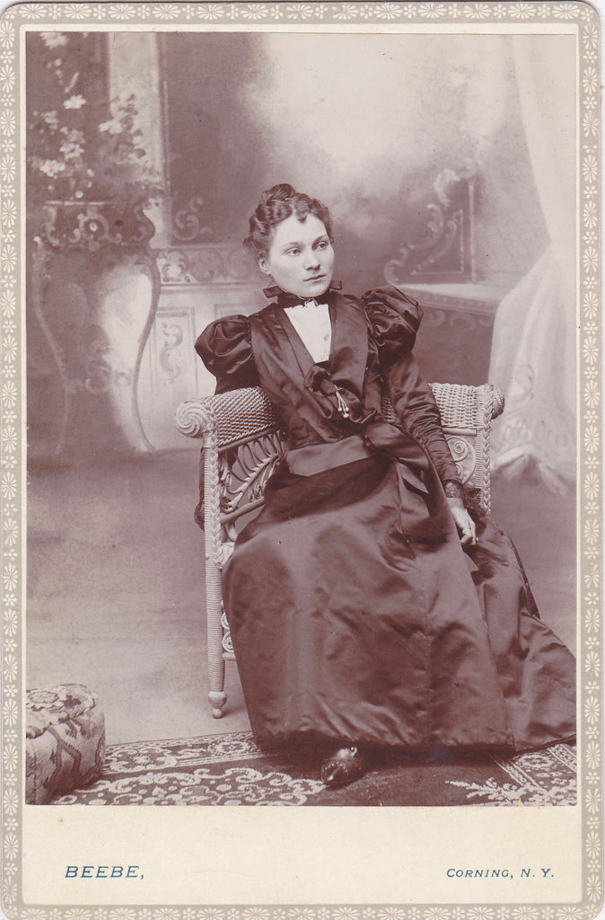 Beautiful Victorian Woman Corning NY