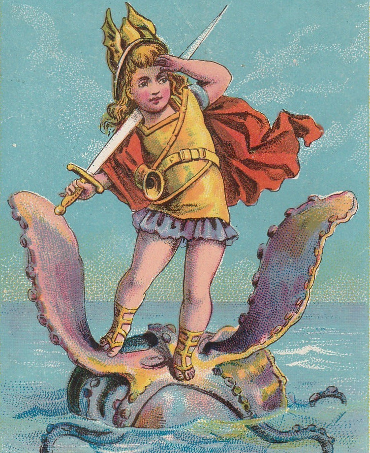 Sea Monster Trade Card Grand Rapids MI 2