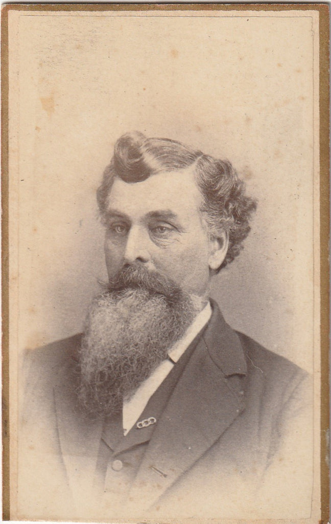 Victorian Odd Fellows Portrait CDV