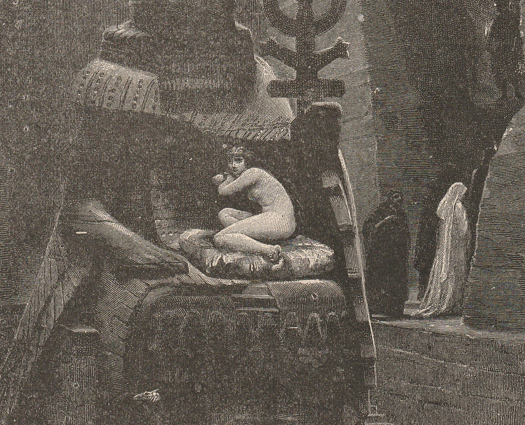 Sacrificial Offering to Baal - Story Of Man , c. 1889