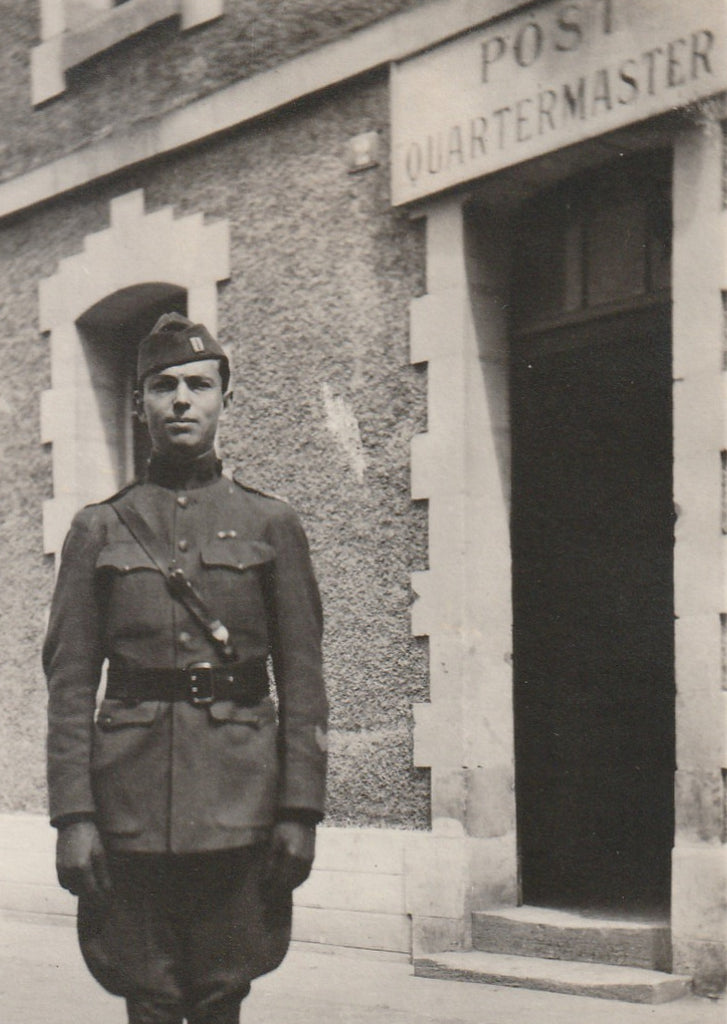 Post Quartermaster WWI Air Service Antique Photo Close Up 2
