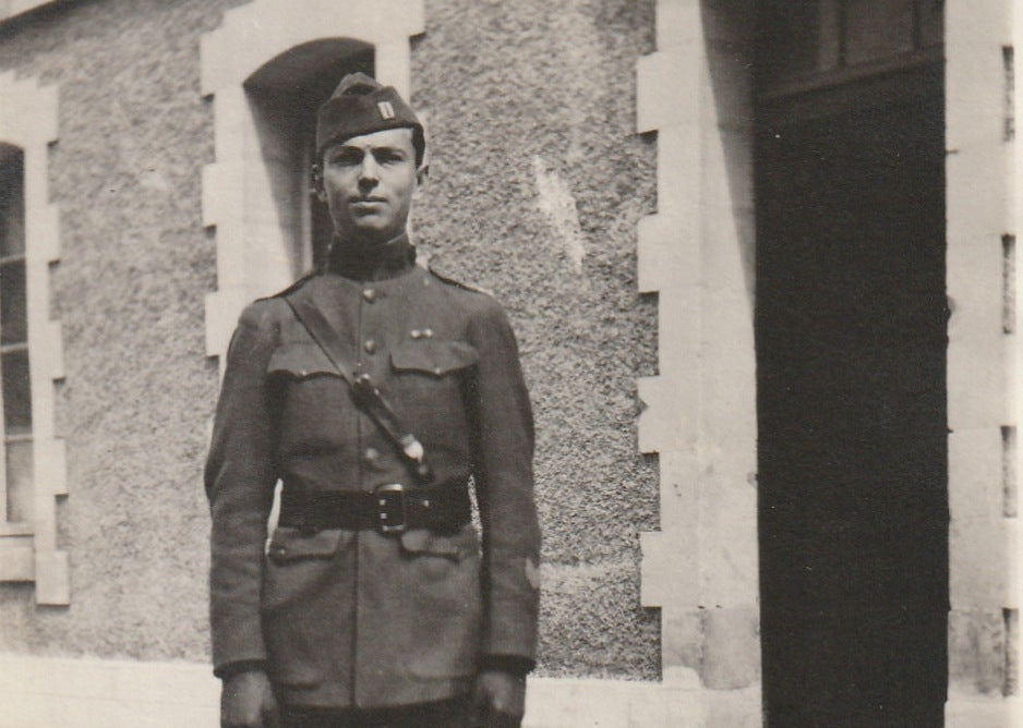 Post Quartermaster WWI Air Service Antique Photo Close Up 3