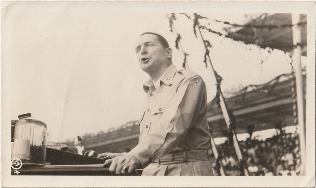 President Manuel Roxas Inauguration July 4th, 1946 Photo 1 of 5