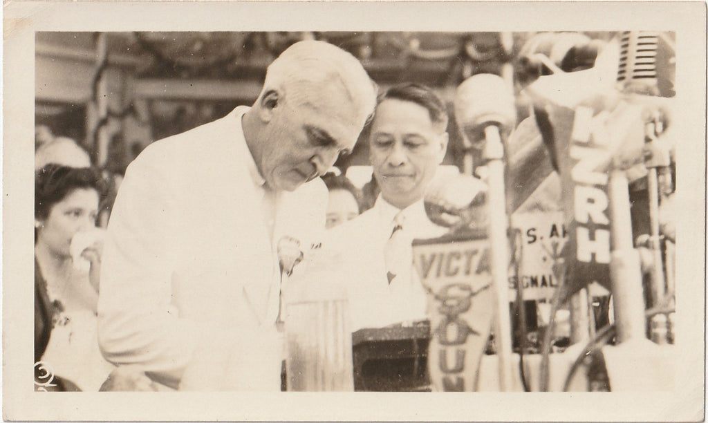 President Manuel Roxas Inauguration July 4th, 1946 Photo 3 of 5