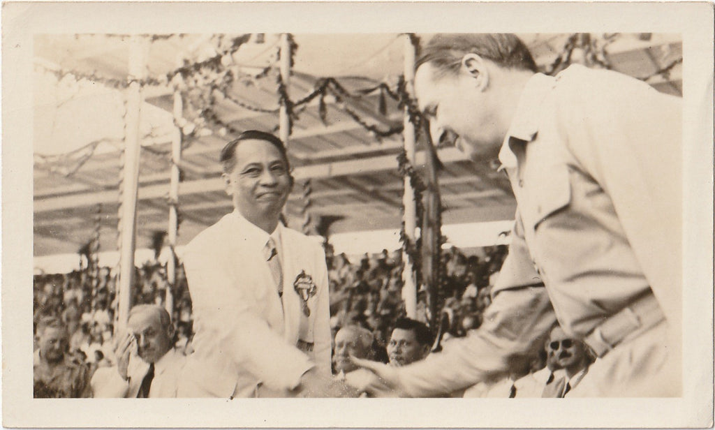 President Manuel Roxas Inauguration July 4th, 1946 Photo 4 of 5