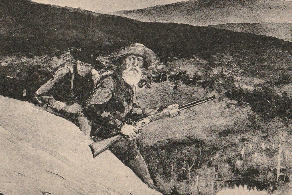 Prospect Rock Winslow Homer Postcard Close Up