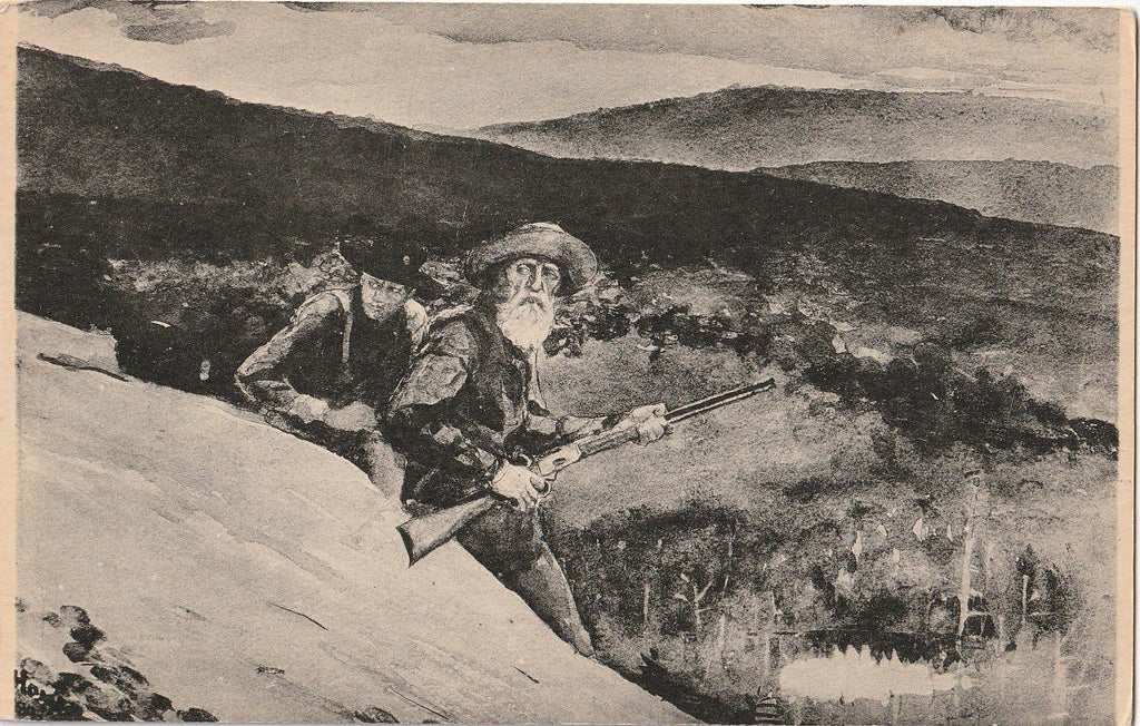 Prospect Rock Winslow Homer Postcard