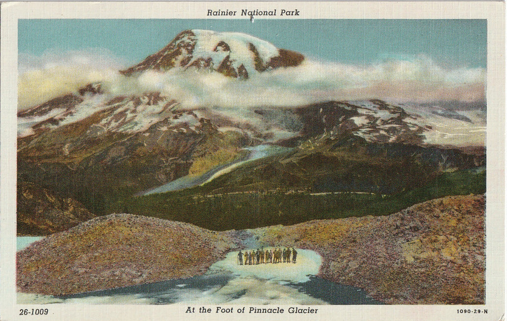 Rainer National Park Pinnacle Glacier Postcard