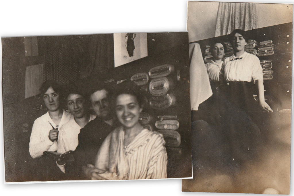 Shirtwaist Shop Girls Antique Photographs