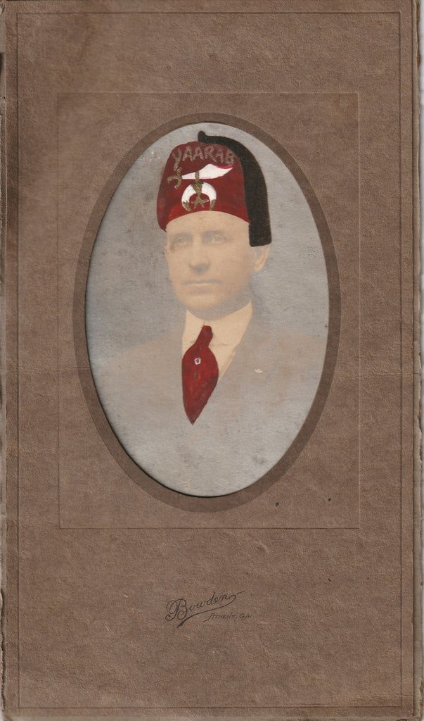 Shriner Athens GA Antique Photo