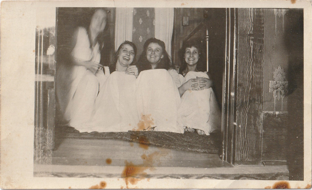 Slumber Party Nightgowns 1920s Photo